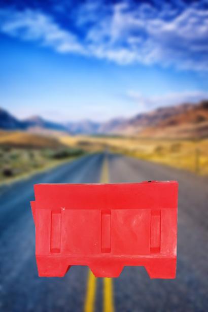 Пластмасови Пътни бариери